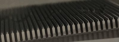 特殊形状の微細精密加工