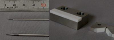 精密微細部品の接着加工