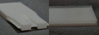 セラミックス、樹脂の微細精密加工